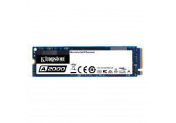 SSD накопитель Kingston 500GB A2000 M.2 2280 PCIe NVMe 3.0 x4 3D TLC (SA2000M8/500G)