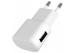 Зарядное устройство Florence (1xUSB 1A) White (FW-1U010W)