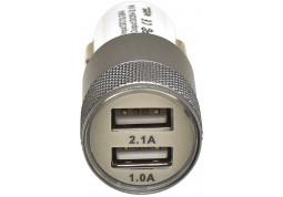 Зарядное устройство Grand-X 2,1A, 12-24V, White 2USB 5V/2.1A (CH-25W) отзывы