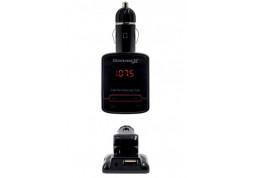 FM-трансмиттер Grand-X CUFM79GRX, AUX, USB 0.5A, SD card, 3.5мм mini-jack цена