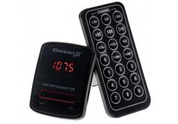 FM-трансмиттер Grand-X CUFM79GRX, AUX, USB 0.5A, SD card, 3.5мм mini-jack