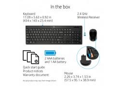 Клавиатура с мышью HP Wireless 200 недорого