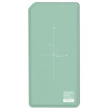 Powerbank аккумулятор Remax Proda Chicon Wireless 10000mAh Green/Black (PPP-33-GREEN+BLACK)