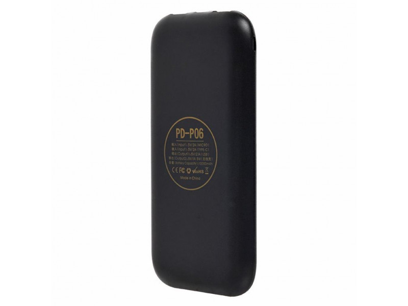 Powerbank аккумулятор Remax Proda Layter Wireless 10000mAh Black (PD-P06-BLACK) отзывы
