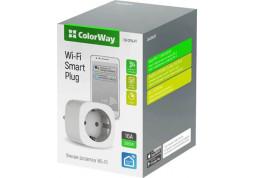 Умная розетка ColorWay 16A/3680W одинарная (CW-SP1A-PT) в интернет-магазине