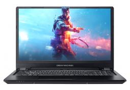 Ноутбук Dream Machines RS2080Q-16 (RS2080Q-16UA26) + в подарок Наушники Kingston HyperX Cloud Core Gaming Black (KHX-HSCC-BK)