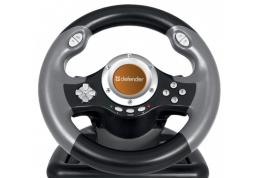 Проводной руль Defender CHALLENGE MINI LE (USB) Руль, PC