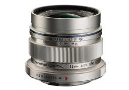 Объектив Olympus EW-M1220 ED 12mm 1:2.0 Silver