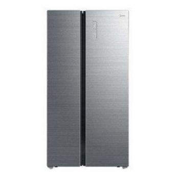Холодильник Side By Side Midea HC-832WEN IG (серое стекло)