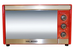 Электродуховка Milano MO-36 Red