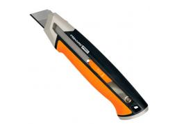 Нож с выдвижным лезвием Fiskars Pro CarbonMax 25 мм (1027228)