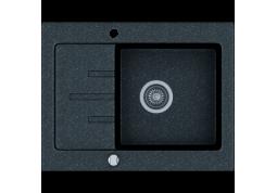 Кухонная мойка Kernau KGS V 4565 1B1D BLACK METALLIC