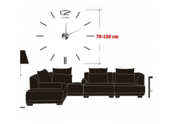 Часы настенные Esperanza EHC007K San Marino 3D black