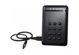 """Внешний карман Frime ДЛЯ 2.5"""" SATA HDD/SSD AES256 BIT ENCRYPTION USB 3.0 BLACK (FHEE10025U30)"""