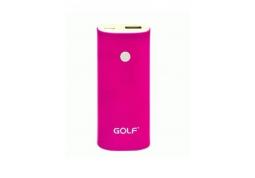 Power Bank (УМБ) Golf 5200 mAh Pink (GF-208)