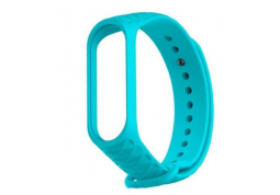 Ремешок Xiaomi Mi Band 3/4 Ribbed Strap Aquamarine