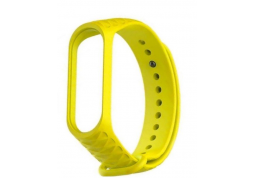 Ремешок Xiaomi Mi Band 3/4 Ribbed Strap Yellow
