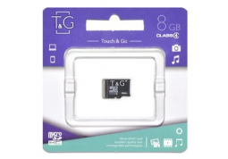 Карта памяти micro SDHC 8GB T&G Class 4 (TG-8GBSDCL4-00)