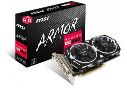 Видеокарта MSI RX 570 ARMOR 8G OC дешево