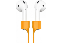 Ремешок магнитный BASEUS Earphone Strap For AirPods Orange (ACGS-A07)