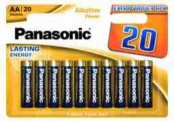 Батарейка Panasonic ALKALINE POWER AA BLI 20 (LR6REB/20BW)