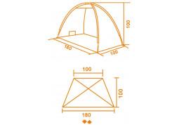 Тент Kemping Sun Tent цена