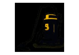 Пылесос промышленный Ghibli POWER WD 50 PD (UFS SYSTEM)
