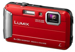 Фотоаппарат Panasonic Lumix DMC-FT30EE Red