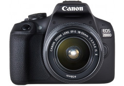 Зеркальный фотоаппарат Canon EOS 2000D kit (18-55mm) IS