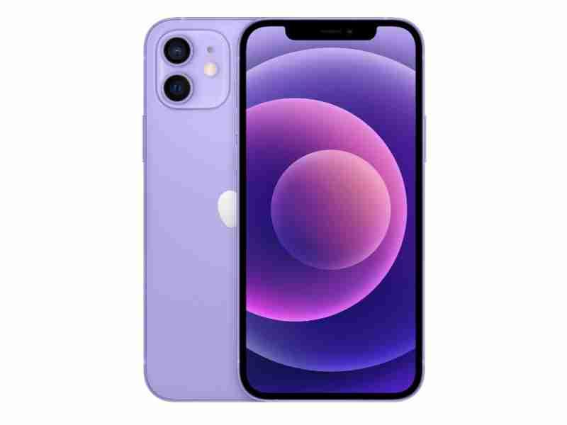 Смартфон  Apple iPhone 12 128GB Purple UA
