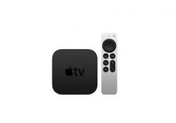 Стационарный медиаплеер Apple TV 4K 2021 64GB (MXH02)