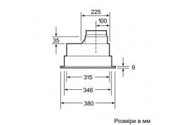 Вытяжка Bosch DHL 545 S дешево