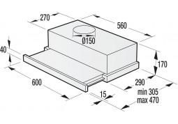 Вытяжка Gorenje BHP623E10X в интернет-магазине