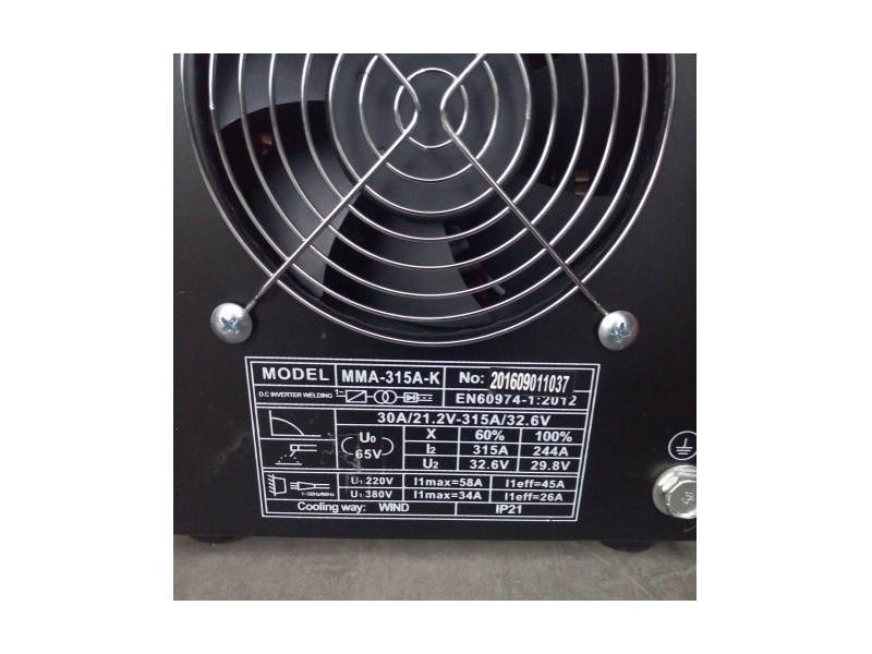 Сварочный аппарат SHYUAN MMA-400A-K описание