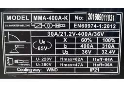 Сварочный аппарат SHYUAN MMA-400A-K дешево