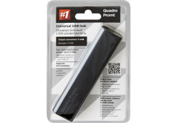 Картридер/USB-хаб Defender Quadro Promt купить