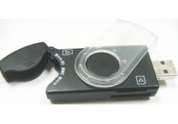 Картридер/USB-хаб Gembird FD2-ALLIN1-C1 - Интернет-магазин Denika