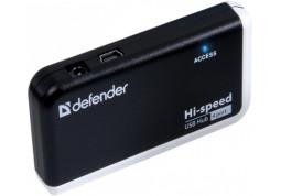 Картридер/USB-хаб Defender Quadro Infix описание