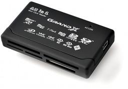 Картридер/USB-хаб Grand-X CRX05 купить