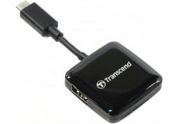 Картридер/USB-хаб Transcend TS-RDC2K - Интернет-магазин Denika