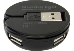 Картридер/USB-хаб Defender Quadro Light купить