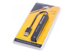 Картридер/USB-хаб Grand-X GH-408 дешево