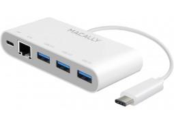 Картридер/USB-хаб Macally UC3HUB3GBC