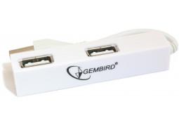Картридер/USB-хаб Gembird UH-008 - Интернет-магазин Denika