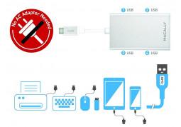 Картридер/USB-хаб Macally UC3HUB отзывы