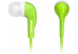 Наушники REAL-EL Z-1007 Green/White - Интернет-магазин Denika