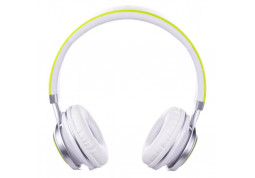 Наушники Vinga HSM040 White/Green (HSM040WG) фото