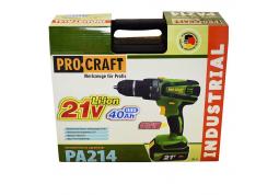 Шуруповерт аккумуляторный Procraft PA-214 купить