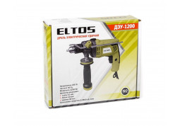 Дрель ударная  Eltos ДЭУ-1200 описание