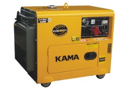Электрогенератор KAMA KDE5500TN